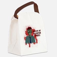 valenine10x10_apparellight Canvas Lunch Bag