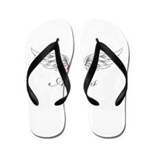 Angel Wings Alexus Flip Flops