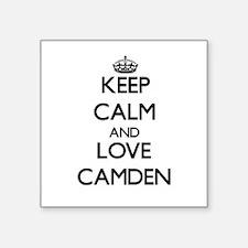 Keep Calm and Love Camden Sticker