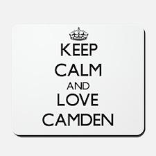 Keep Calm and Love Camden Mousepad