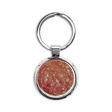 salami Round Keychain