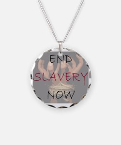 END SLAVERY NOW Necklace