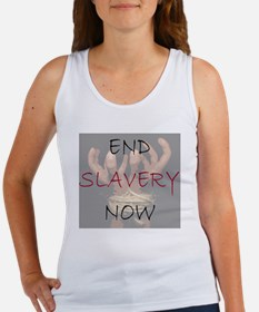 END SLAVERY NOW Women's Tank Top