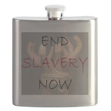 END SLAVERY NOW Flask