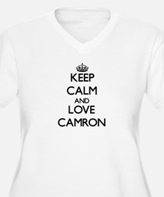 Keep Calm and Love Camron Plus Size T-Shirt