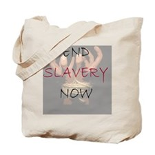 3-END SLAVERY NOW Tote Bag