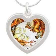 TEAM JACOB Silver Heart Necklace