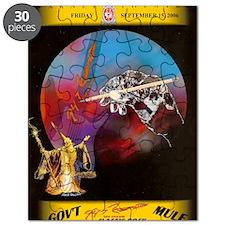 Govt Mule Banner 8.23.06 Puzzle