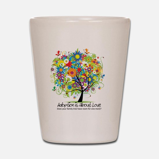 2-FAMILY TREE ONE MORE Shot Glass
