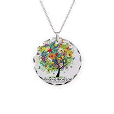 2-FAMILY TREE ONE MORE Necklace