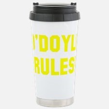 O-Doyle-(dark-shirt) Stainless Steel Travel Mug