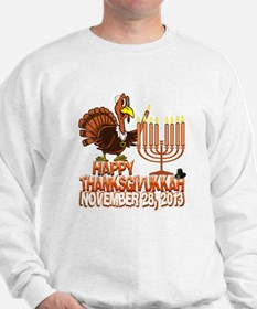 Happy Thanksgivukkah Thankgiving Hanukkah Sweatshi