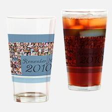 notecard Drinking Glass