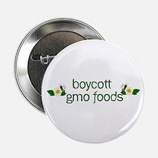 Boycott GMO Foods 2.25&Quot; Button