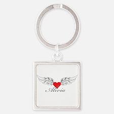 Angel Wings Alivia Keychains