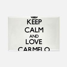 Keep Calm and Love Carmelo Magnets