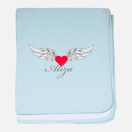 Angel Wings Aliza baby blanket