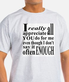 Appreciate Often T-Shirt