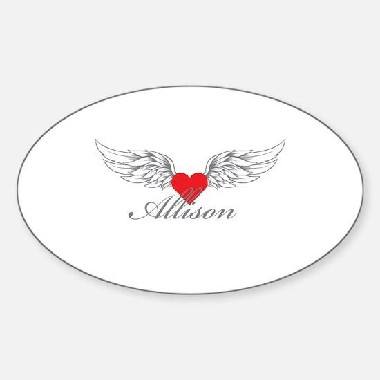 Angel Wings Allison Decal