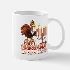 Happy Thanksgivukkah Thankgiving Hanukkah Mugs
