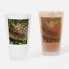 serval 014 Drinking Glass