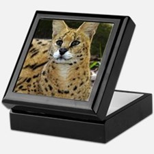 serval 015 Keepsake Box