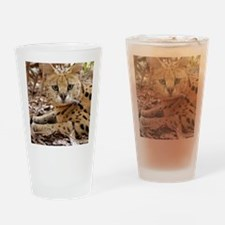 serval 025 Drinking Glass