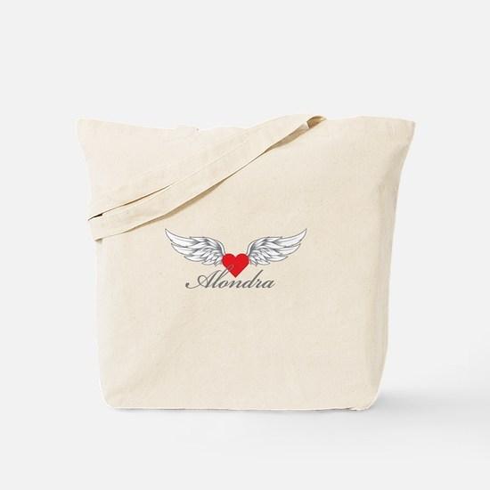 Angel Wings Alondra Tote Bag