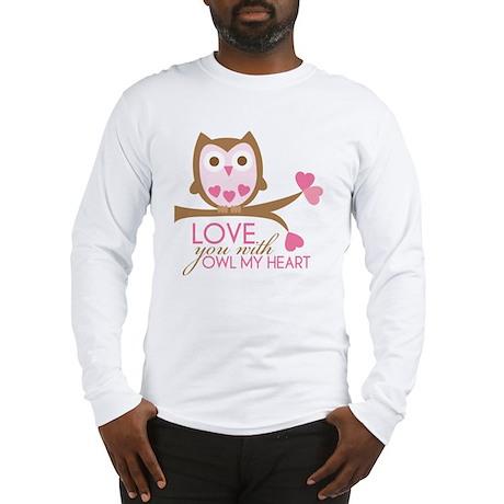 owlmyheart copy Long Sleeve T-Shirt