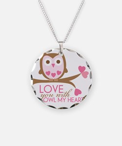 owlmyheart copy Necklace