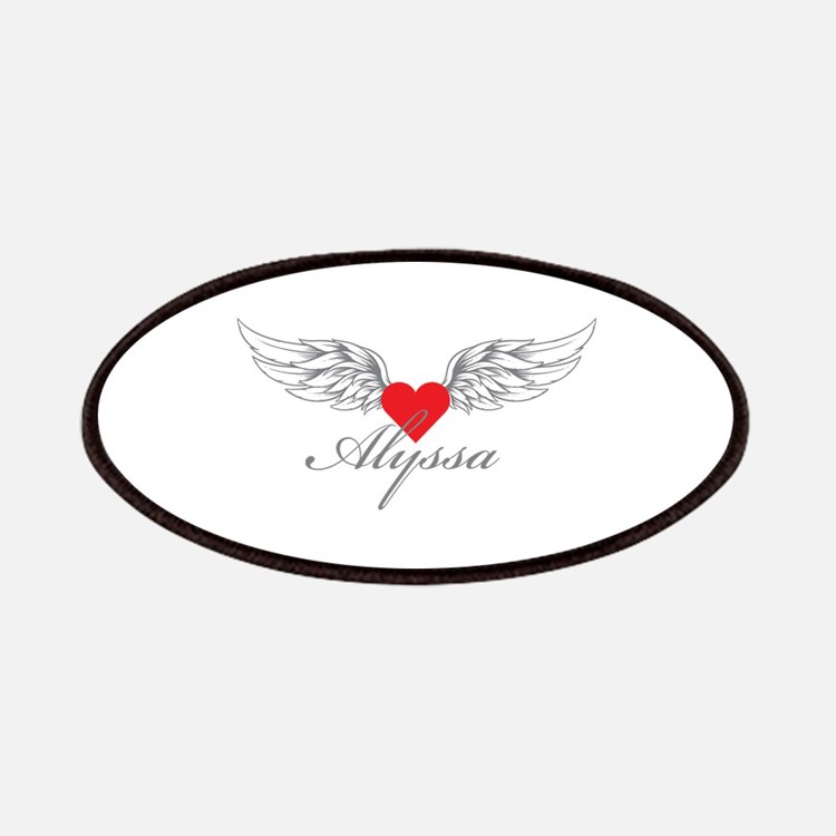 Angel Wings Alyssa Patches