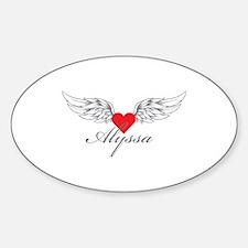 Angel Wings Alyssa Decal