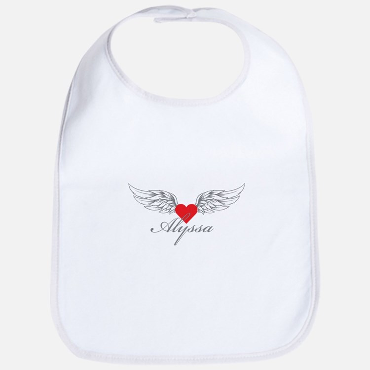 Angel Wings Alyssa Bib