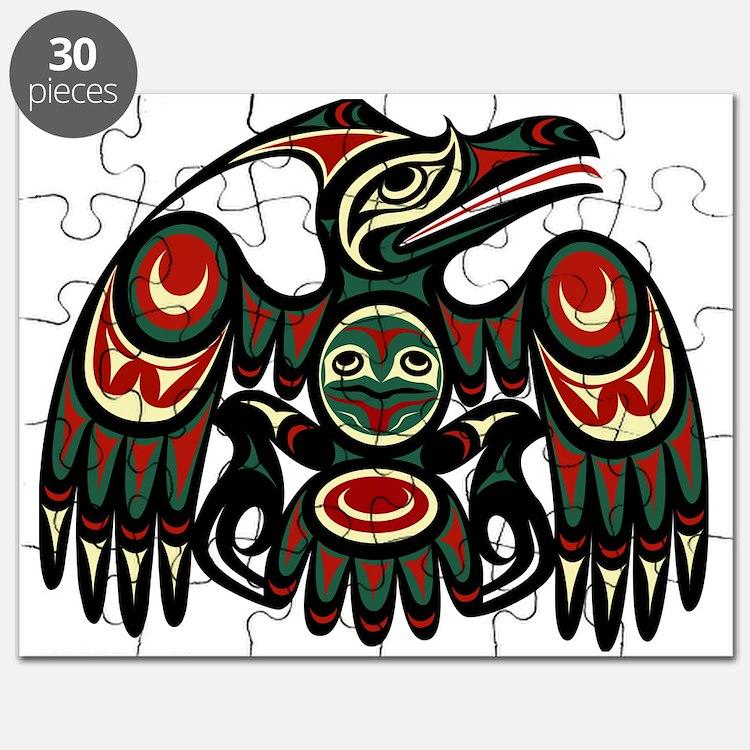 Northwest eagle Puzzle