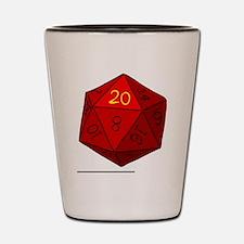 d20_high Shot Glass