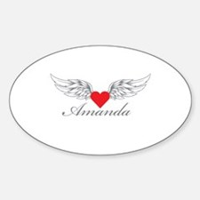 Angel Wings Amanda Decal