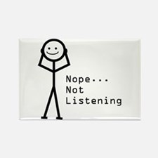 Selective Hearing Rectangle Magnet (100 pack)