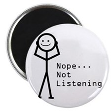 """Selective Hearing 2.25"""" Magnet (100 pack)"""