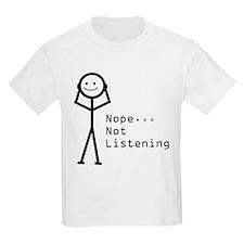 Selective Hearing Kids T-Shirt