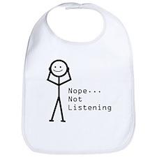 Selective Hearing Bib