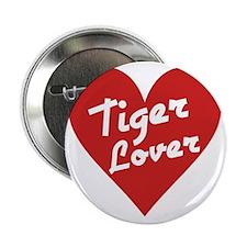 "Tiger Lover 2.25"" Button"