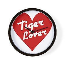 Tiger Lover Wall Clock