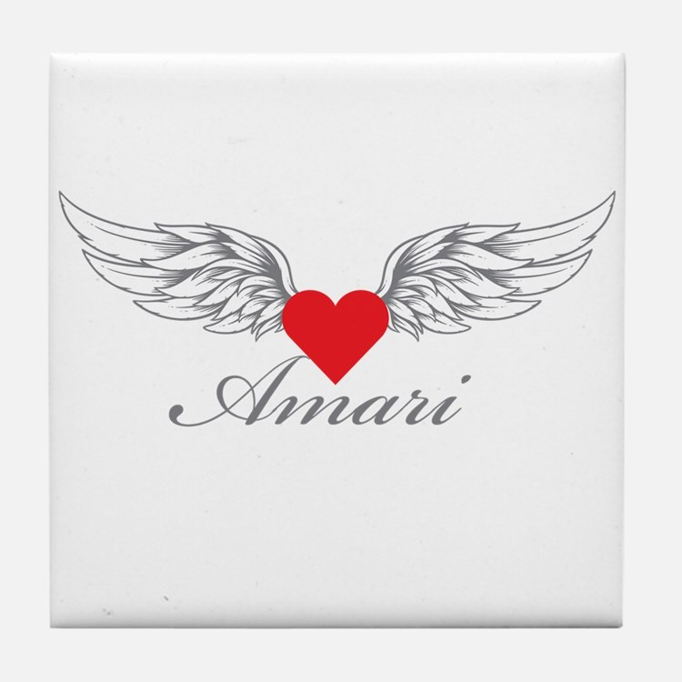 Angel Wings Amari Tile Coaster
