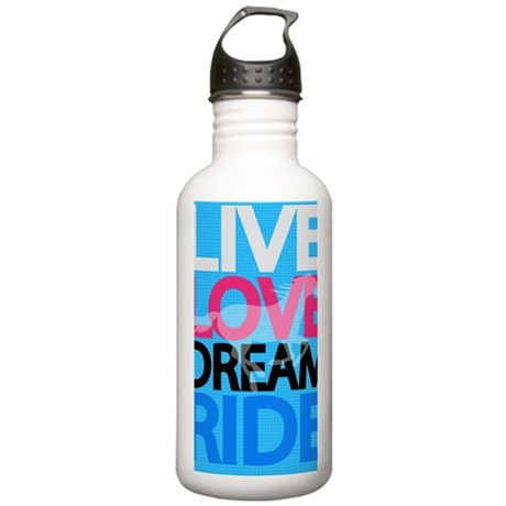 livelovedream-ride-23x Stainless Water Bottle 1.0L