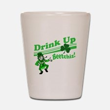 drink up beetchizBRIGHT Shot Glass