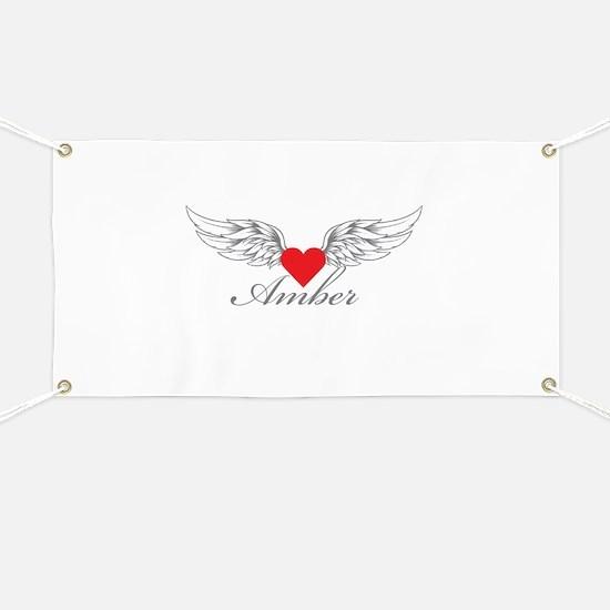 Angel Wings Amber Banner