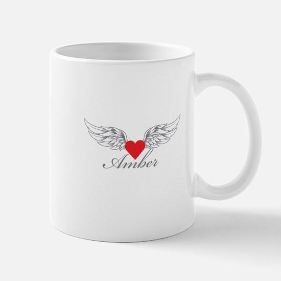 Angel Wings Amber Mugs