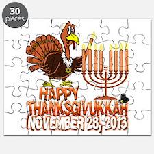Happy Thanksgivukkah Thankgiving Hanukkah Puzzle
