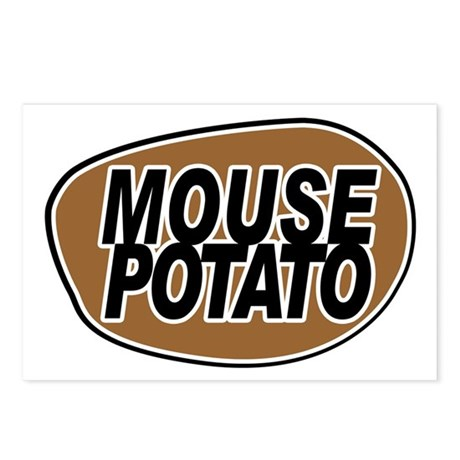 mouse_potato_for_CP Postcards (Package of 8)