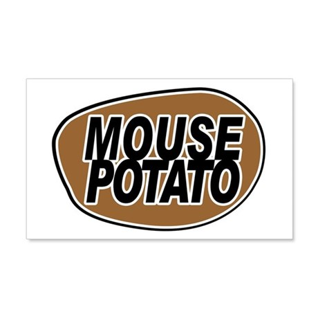 mouse_potato_for_CP 20x12 Wall Decal